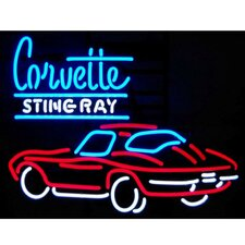 Cars & Motorcycles GM Corvette Stingray Neon Sign
