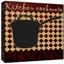 Kitchen Cookware Wall Art