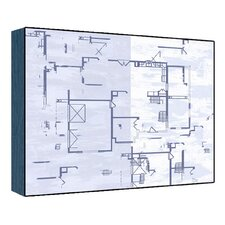 Blue Plan II Wall Art