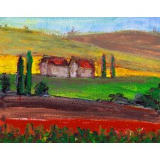 Crops Painting Print on Wrapped Canvas