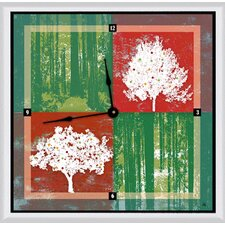 "Forests 16"" Art Wall Clock"