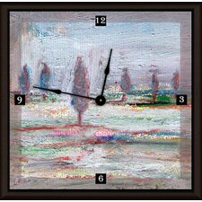 "Landscape of Forest 20"" Art Wall Clock"