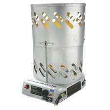 60,000 BTU Portable Natural Gas Convection Utility Heater