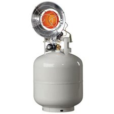 15,000 BTU Portable Propane Radiant Tank Top Heater