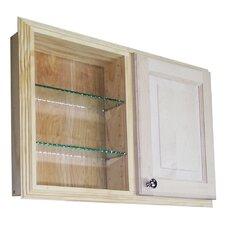 """Baldwin Dual Side, Single Door 29.5"""" x 19.5"""" Recessed Cabinet"""