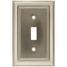 Architectural Single Switch Wall Plate