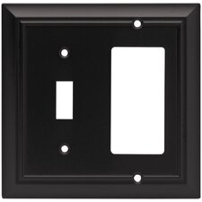 Architectural Single Switch/Decorator Wall Plate