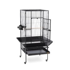 Park Plaza Large Bird Cage with Casters