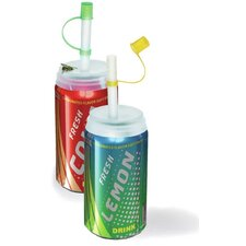 Fizz Keeper and Soda Straw