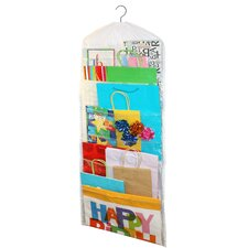 Gift Wrap and Gift Bag Organizer