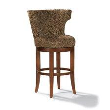 "Monroe 31"" Swivel Bar Stool with Cushion"