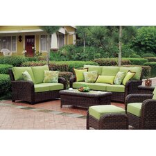 Saint Tropez 6 Piece Deep Seating Group with Cushions