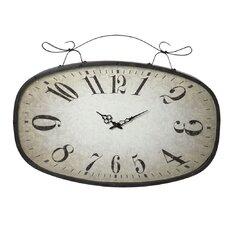 Distressed Scroll Wall Clock
