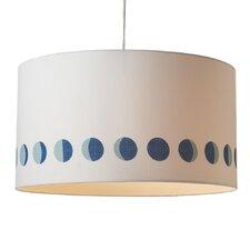 1 Light Moon Phases Drum Pendant