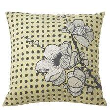 Cherry Blossom Dot Cotton Throw Pillow (Set of 2)