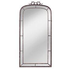 Distressed Window Wall Mirror