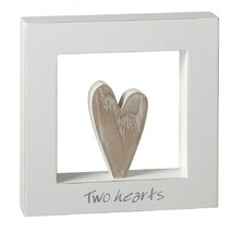"""Two Hearts"" Shadow Box"