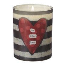 """Joy Filled Heart"" Jar Candle"