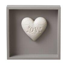 """""""Love"""" Heart Message Wall Decor"""