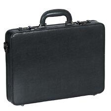 Business Leather Slim Tablet Attaché Case
