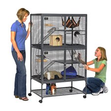 Critter Nation Small Animal Double Unit Cage