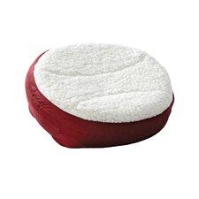 Round Dish Dog Pillow