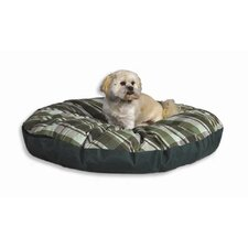 Quiet Time e'Sensuals Indoor / Outdoor Round Dog Pillow