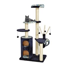 "62"" Feline Nuvo Playhouse Cat Tree"