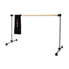 Prodigy Series Traditional Wood Single Bar Ballet Barre-n-Bag Kit