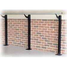 Floor Barre Series Modern Aluminum Single Bar Ballet Barre Kit