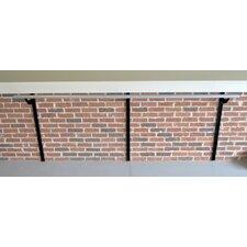 Wall Barre Series Modern Aluminum Adjustable Height Ballet Barre Kit