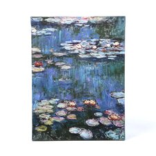 'Water Lillies' by Claude Monet Painting Print on Wrapped Canvas