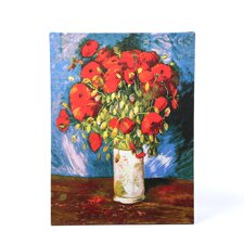 """Poppies'' by Vincent Van Gogh Painting Print on Canvas"