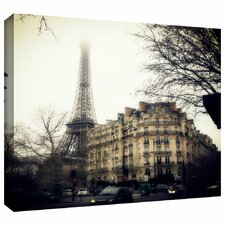 Paris' by Revolver Ocelot Photographic Print Gallery-Wrapped on Canvas