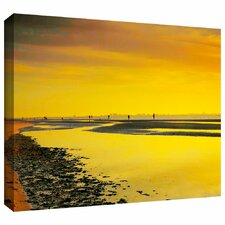 'Mellow Yellow Morning' by Steven Ainsworth Gallery Wrapped on Canvas
