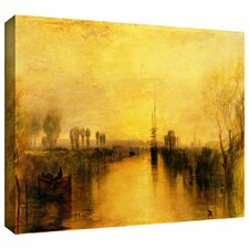 'Chichester Canal' by William Turner Gallery-Wrapped on Canvas