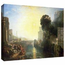 'Dido Building Carthage or The Rise of the Carthagnian Empire' by William Turner Gallery-Wrapped on Canvas
