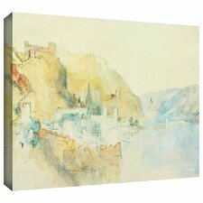 'On The Rhine' by William Turner Gallery-Wrapped on Canvas