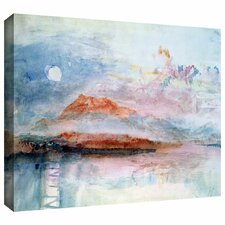 """""""Righi, after 1830"""" Gallery Wrapped on Canvas by William Turner"""