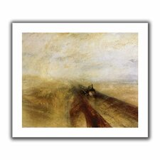 'Rain Steam and Speed, The Great Western Railway' by William Turner Canvas Poster