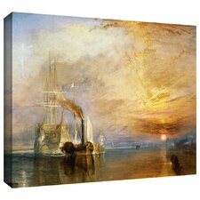 'The Fighting Temeraire' by William Turner Gallery-Wrapped on Canvas