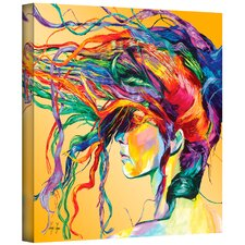 """Windswept"" by Linzi Lynn Painting Print on Canvas"
