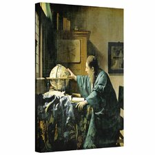 'The Astronomer' by Johannes Vermeer Gallery-Wrapped on Canvas