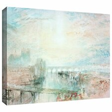 'View of Lyons' by William Turner Gallery Wrapped on Canvas