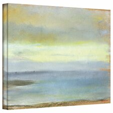 """Marine Sunset"" by Edgar Degas Painting Print on Wrapped Canvas"