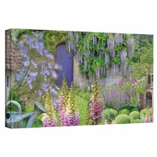 'Cottage Garden' by Cora Niele Photographic Print on Wrapped Canvas