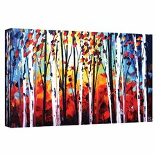 'Autumn' by Jolina Anthony Painting Print on Wrapped Canvas