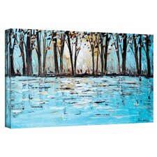 """""""Wonderland"""" by Jolina Anthony Painting Print on Gallery Wrapped Canvas"""