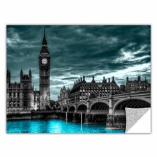 ArtApeelz 'London' by Revolver Ocelot Graphic Art on Wrapped Canvas
