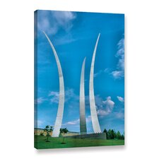 Air Force Memorial by Steve Ainsworth Photographic Print on Gallery Wrapped Canvas